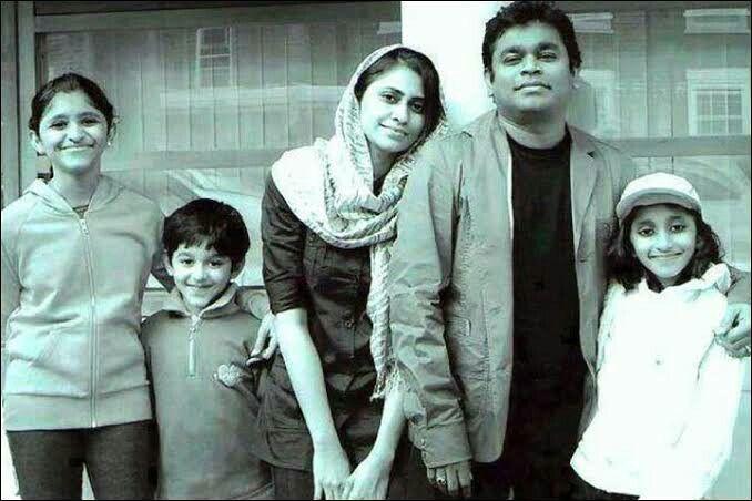 AR Rahman family