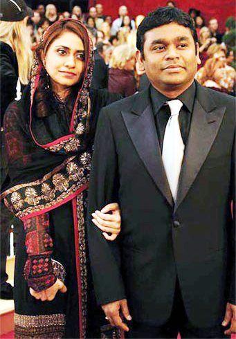 ar rahman wife
