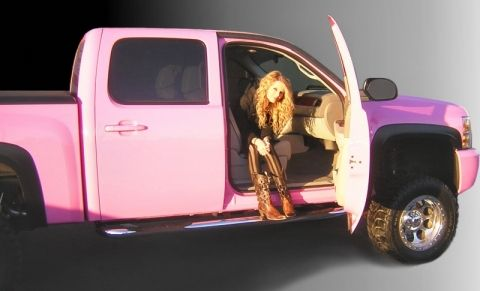 Taylor swift Chevy Silverado