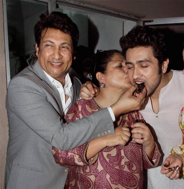 Adhyayan Suman parents