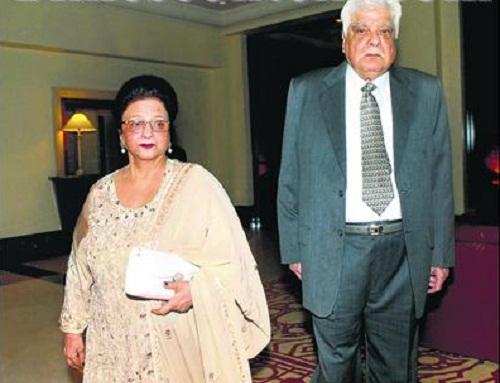Anil Kapoor parents