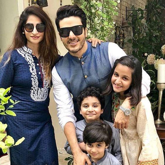 Ahsan Khan Family