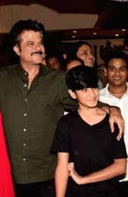 anil kapoor and Jahaan Kapoor