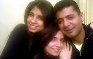 hamid siddiqui, mahnoor baloch and their daughter