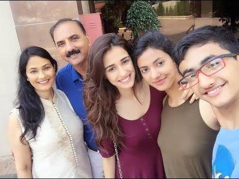 disha Patani family