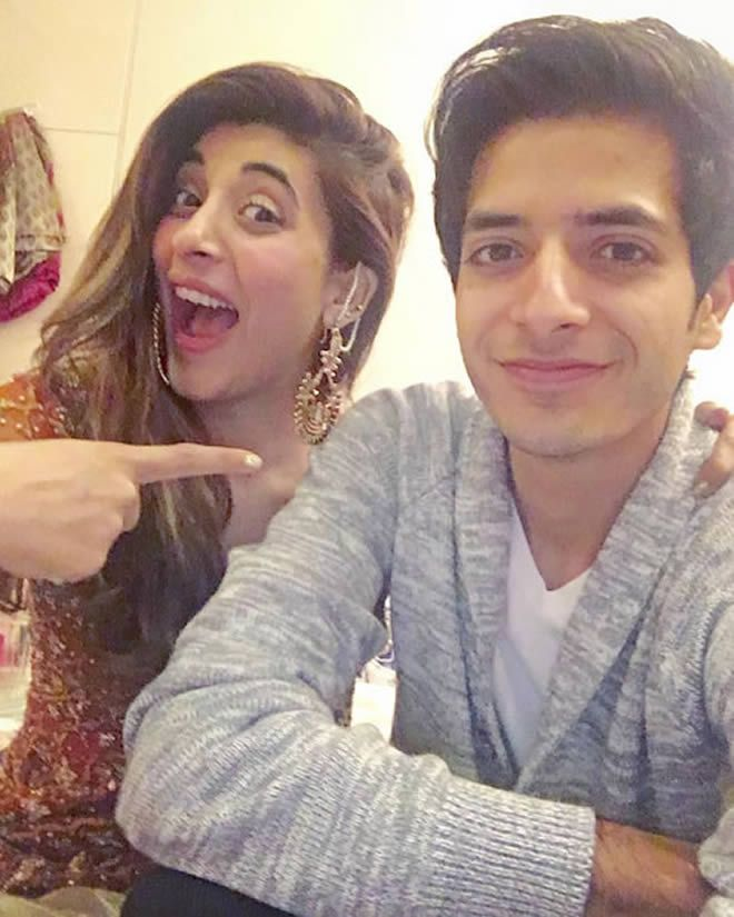 urwa hocane with his brother Ins E Yazdan