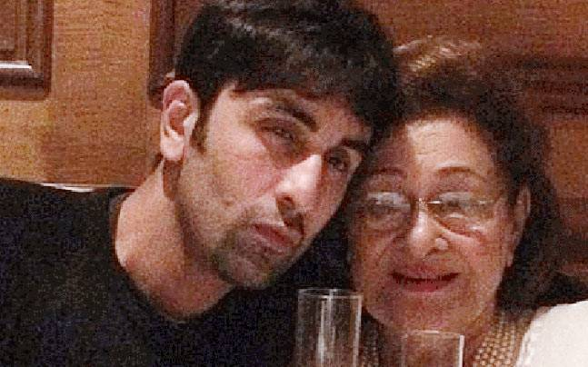 ranbir kapoor grandmother