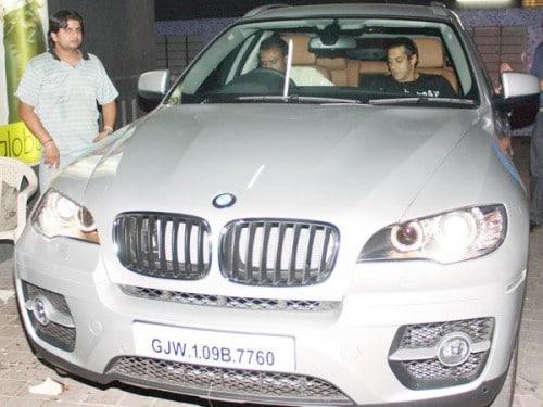 salman khan BMW X6