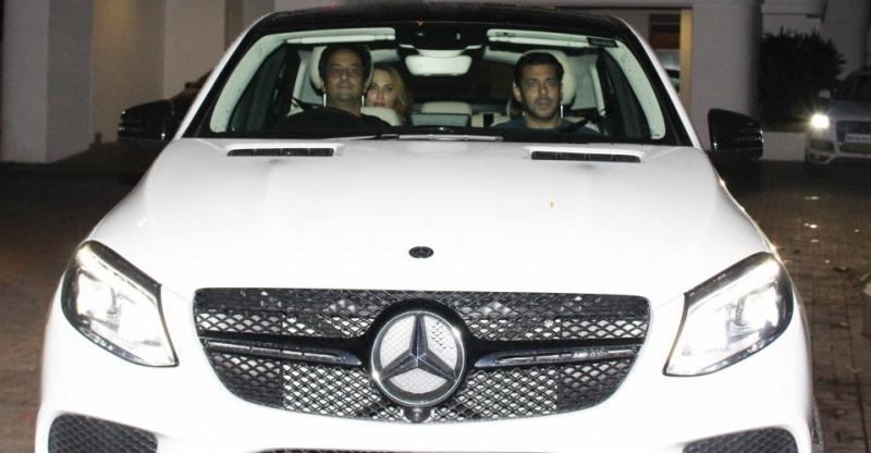 salman khan Mercedes Benz GL-Class