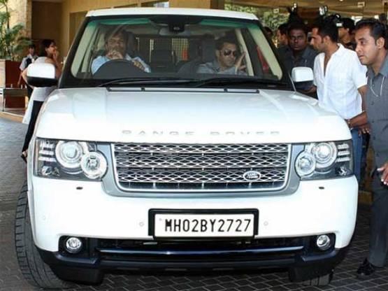 salman khan Range Rover Vogue