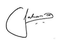 salman khan Signature