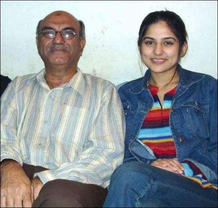 sanam baloch father