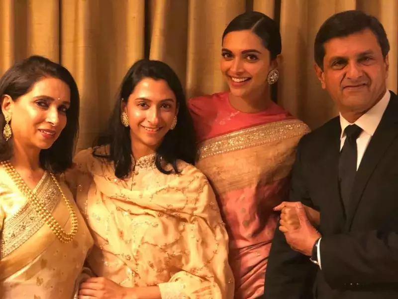 Deepika Padukone parents