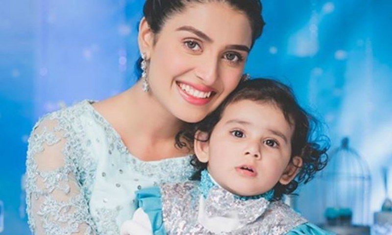 Ayeza Khan daughter