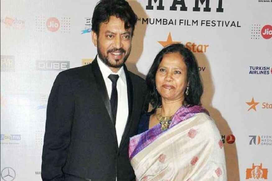Irrfan Khan wife