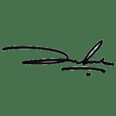 Shah Rukh Khan Signature
