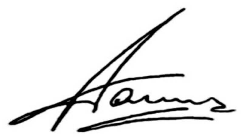 aamir khan signature