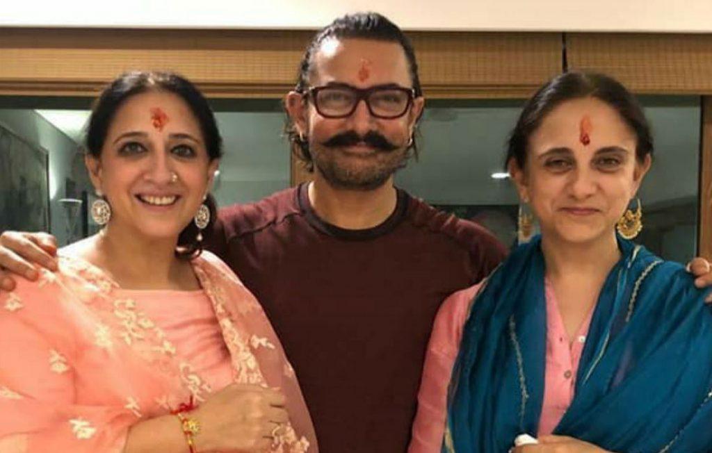 aamir khan sisters