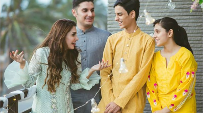 ayeza khan siblings
