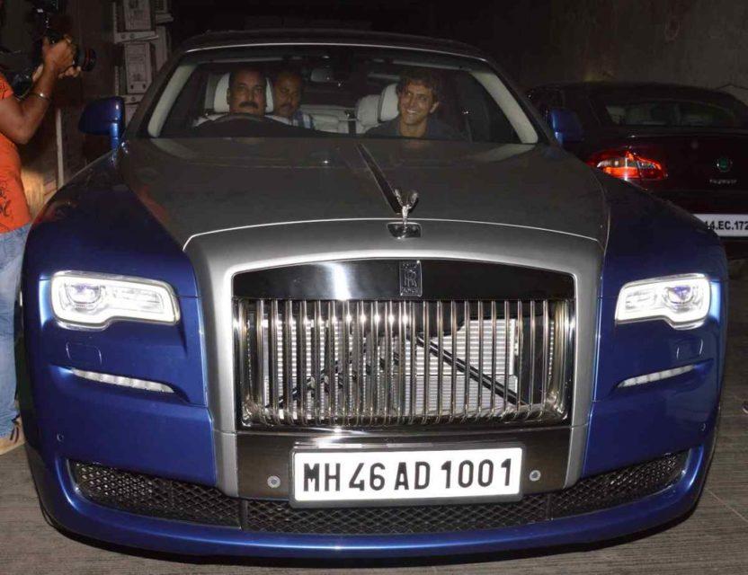 hrithik roshan Rolls Royce Ghost Series II