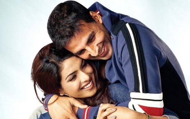 priyanka chopra with Akshay Kumar