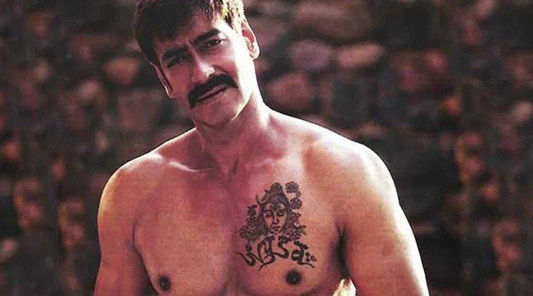 Ajay Devgn Tattoo