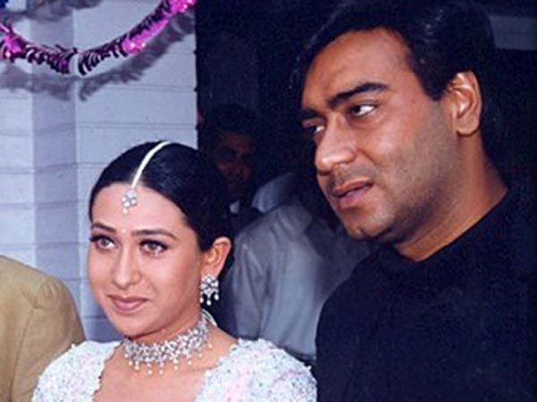 Ajay devgn and karisma kapoor