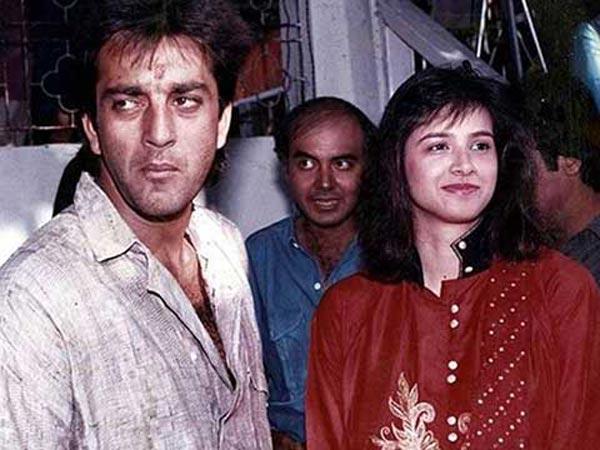 richa sharma with sanjay dutt