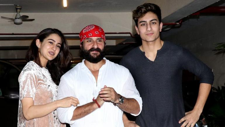saif ali khan daughter and son from first wife