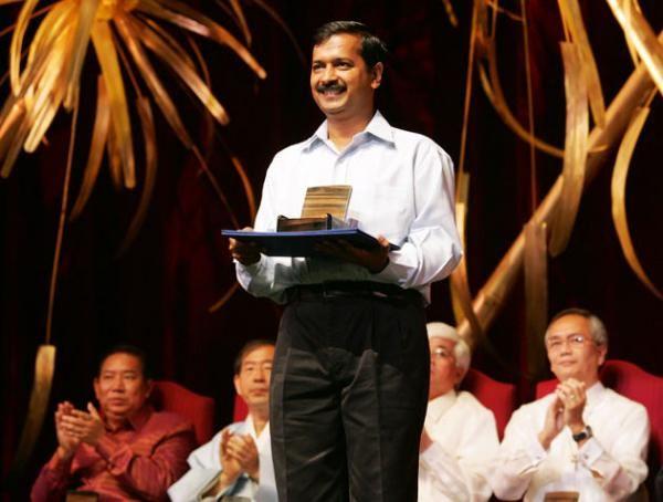 Arvind Kejriwal Ramon Magsaysay Award