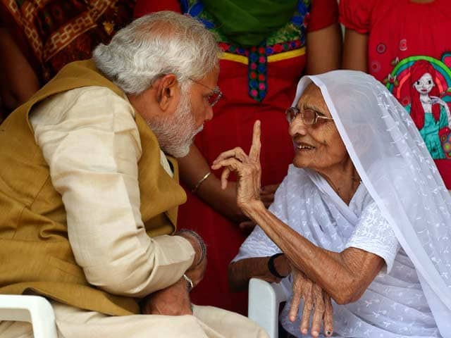 Narendra Modi mother