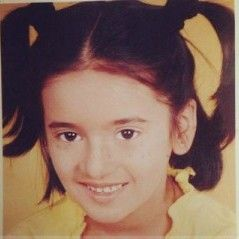 Shivani Surve's childhood picture
