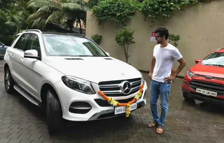 Vicky Kaushal's Mercedes Benz GLC SUV