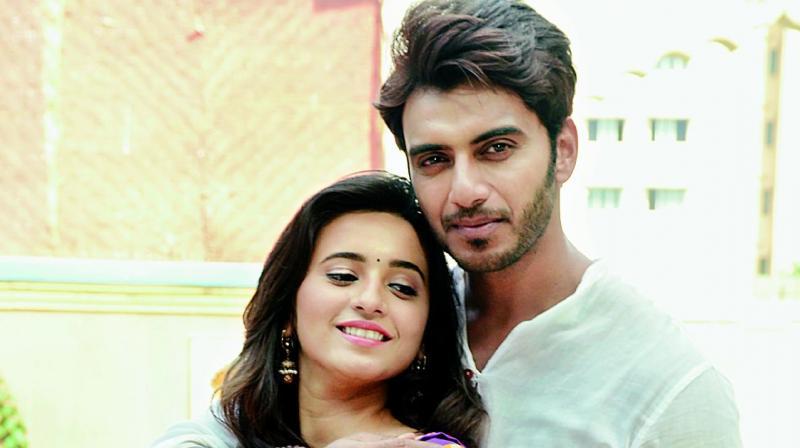 vikram singh chauhan with Shivani Surve