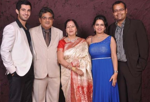 Aditya Seal family