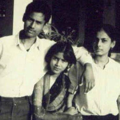 sakshi tanwar childhood picture
